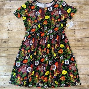 NWT LuLaRoe Amelia Dress 3XL